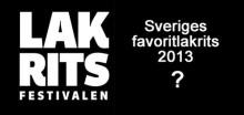 Sveriges favoritlakrits 2013