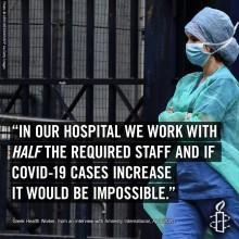 Covid19-krisen avslöjar ett akut behov av att stärka Greklands sjukvårdssystem