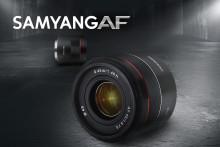 Nytt kompakt normalobjektiv för Sony FE