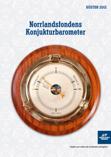 Norrlandsfondens konjunkturbarometer hösten  2012