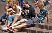 Skader mobiltelefoner for millioner på skolen