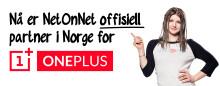 NetOnNet blir ny forhandler av OnePlus