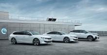 Peugeot presenterar laddhybrider