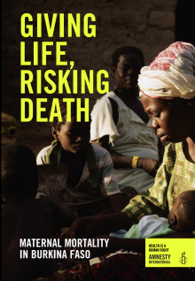Giving Birth, Risking Death report