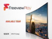 From today Freeview Play will be available to enjoy on a range of new Panasonic VIERA TVs