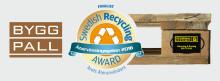 """Retursystem Byggpall är nominerat till utmärkelsen """"Årets Återanvändare"""""""