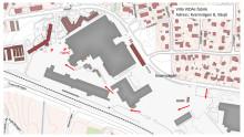 Karta till Villa VIDAs fabrik för media