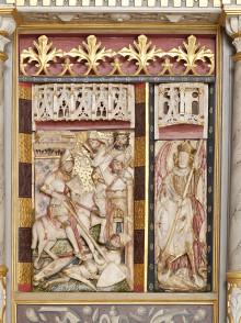 Berømt alter med alabast fra Nottingham