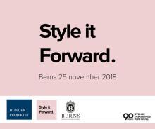 Style it Forward på Berns - modeeventet som avskaffar hunger och fattigdom