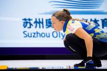 Curling: Team Hasselborg fortsatt obesegrade i Kina