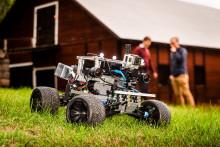 3D modell skapas från billig video