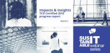 Webinar: Impacts and Insights – TCO Certified 2016 progress report