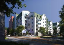 ByggVesta bjuder in Lex Zooz till Rosendal för 200 kvadratmeter stor väggmålning