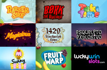 LuckyWinSlots.com launches 8 New Slots