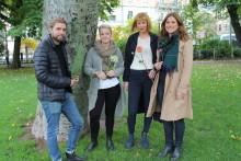Fyra toppflorister representerar Sverige i Nordiska Mästerskapet i blomsterbinderi