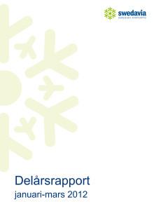 Delårsrapport, kvartal 1, 2012