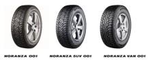 Täysin uusi nastarengas Bridgestone Noranza 001