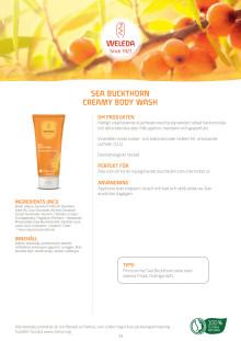 Sea Buckthorn Creamy Body Wash