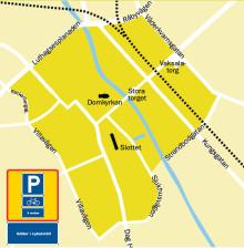 Högst fem veckor för cyklar i centrala Uppsala