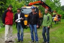 Bayernwerk baut 21 Strommasten zwischen Seehaus und Ruhpolding ab