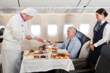Turkish Airlines serverar världens bästa mat ombord
