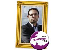 Theo Papaioannou utsedd till Årets Hisingsprofil 2012