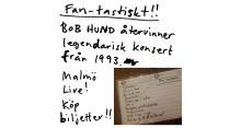 25 år bakåt och 125 år framåt - Bob Hund återvinner legendarisk konsert!