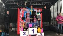Emil Lindgren och Jennie Stenerhag segrare och snabbcyklande på Lidingö