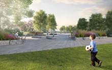Så blir nya parken i Kvillebäcken – gestaltning klar