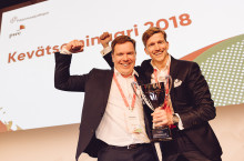 Significant recognition for Unisport – awarded for the best company in Kasvutarina 2018