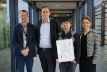 Dr Yohei Jinno receives the 2018 Eklund Foundation Scholarship