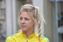 Emilia Fahlin nöjd med tempoloppet på VM i Doha