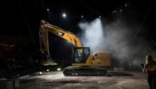 Nästa generations grävmaskin från Caterpillar summeras i siffrorna  45, 25 och 15