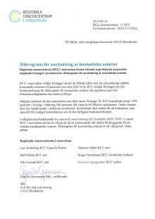 RCC:s remissvar till Miljö- och energidepartementet