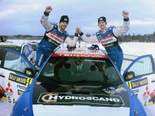 Lyckad rallysatsning för Mitsubishi –  Richard Göransson tvåa i standardklassen