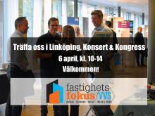 Thermotech medverkar på Fastighetsfokus VVS i Linköping 6 april