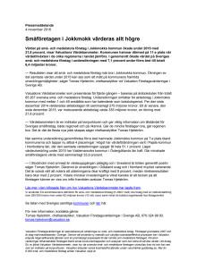 Värdebarometern 2015 Jokkmokks kommun
