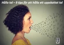 Hålla tal – 9 tips för att hålla ett uppskattat tal
