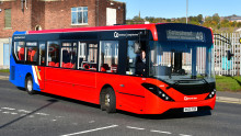 Go North East buses continue to operate with emergency timetables for key workers and essential journeys