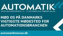 Mød os på Automatikmessen 2018!