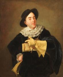 Nationalmuseum acquires important actor portrait by artist Carl Fredrik von Breda