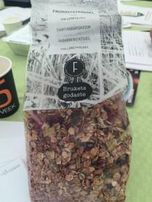 Frukostströssel från Brukets godaste och Fridas förädling vann Matverk Dalsland 2017