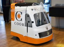 Coor - først i Europa med neste generasjons rengjøringsrobot