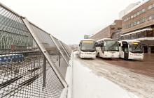 Trafikrapport från Swebus: Inga inställda turer i Bohuslän - extrabussar i jultrafiken