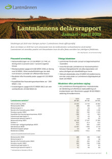 Lantmännens delårsrapport