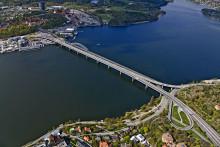 Inriktningen för den nya bron