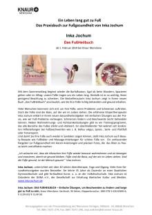 Pressemitteilung: Jochum_Das FußHeilbuch