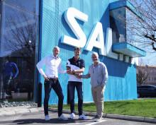 Warberg IC / IBF och Salming påbörjar 4-årig resa!