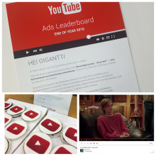 Gigantin Anna lahjan puhua – isä ja teini -video niitti suosiota YouTubessa!