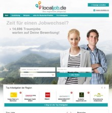 stellenanzeigen.de relauncht regionale Jobbörse localjob.de